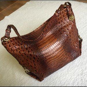 Genuine leather Brahmin